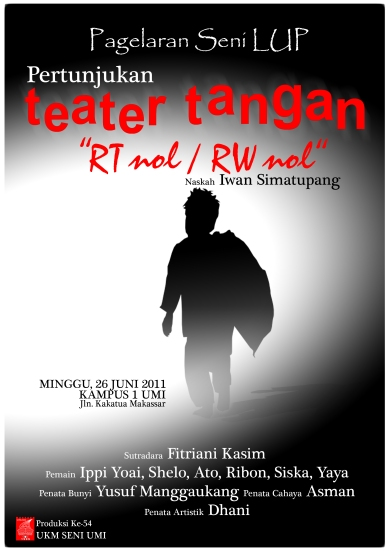 Teater Tangan RT 0 RW Fakultas UKMSeniUMI